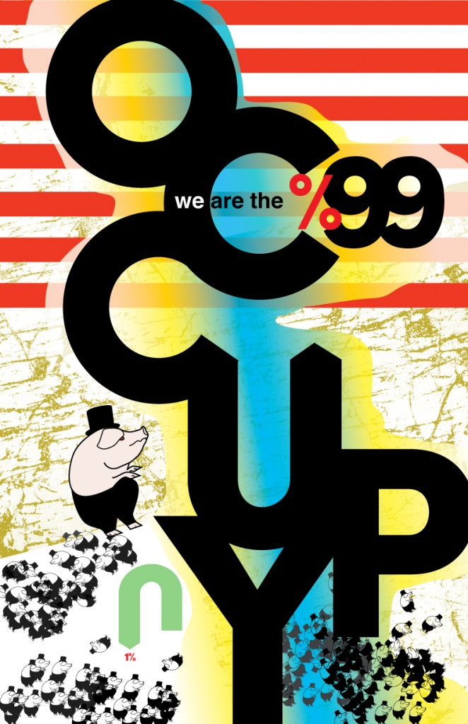 Occupy Poster Design by Christa Bianchi