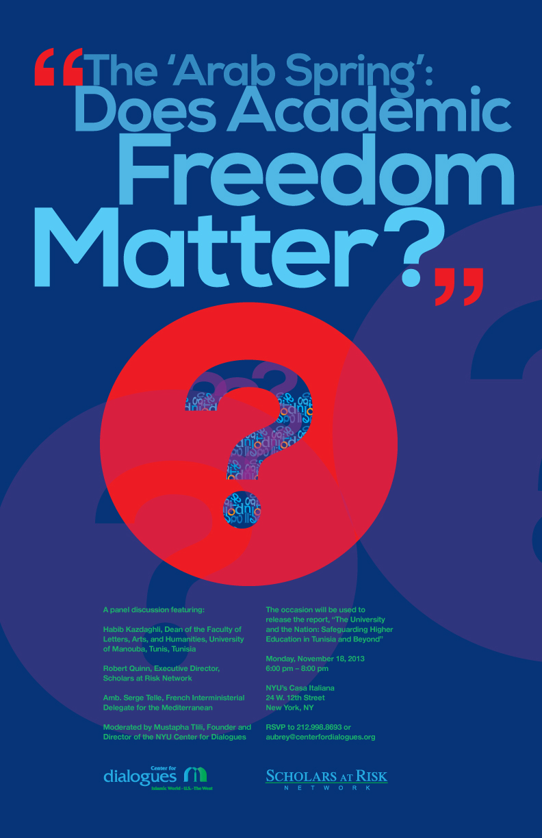 Poster design blog - Cfd Academicfreedom Poster D04 11x17