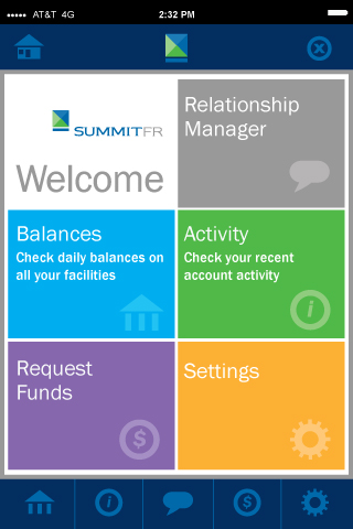 Mobile App Design for Summit Financial Resources