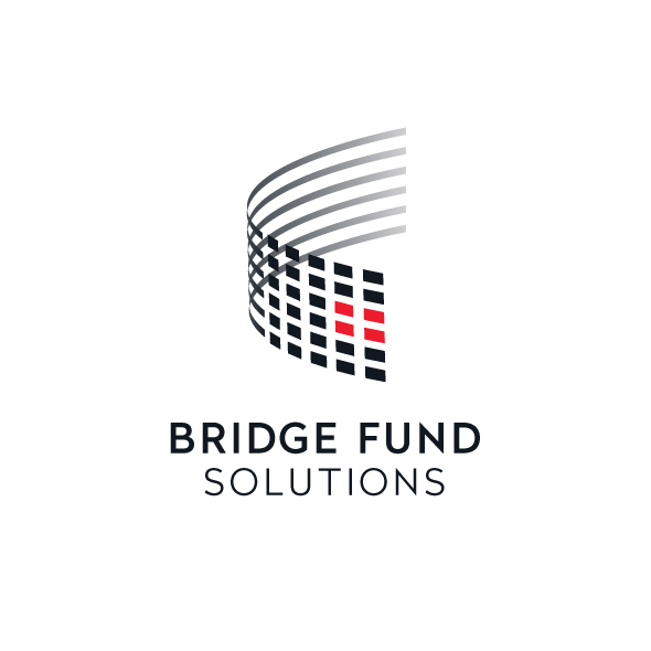Logo Identity Design for Bridge Fund Solutions centered version