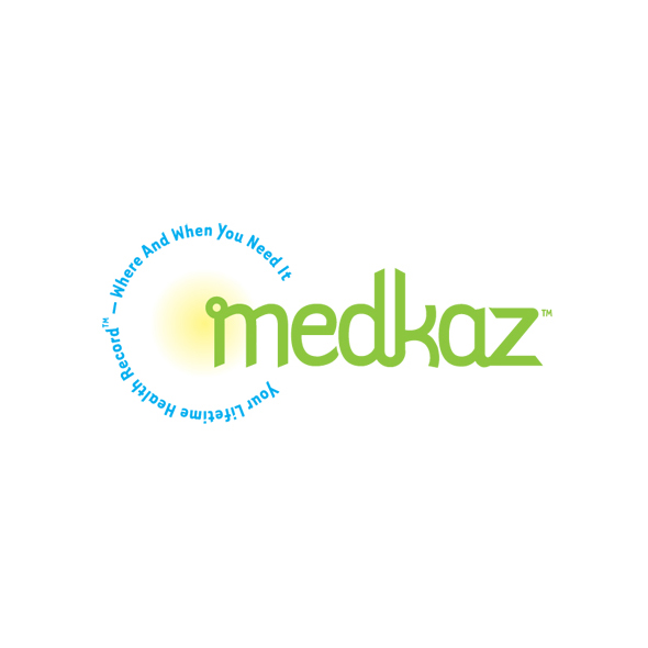 Logo Identity Design for The MedKaz Personal Medical Records System