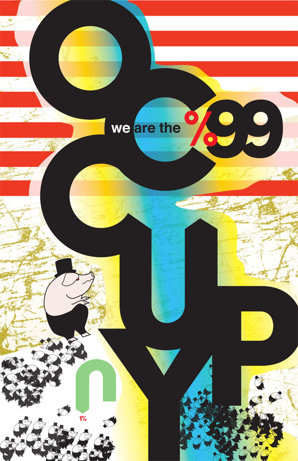 Poster Design: OCCUPY | We Are The 99 Percent