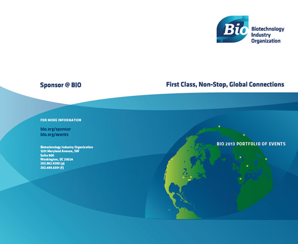 Booklet Brochure Design for BIO