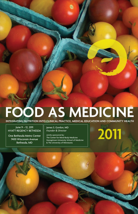Booklet Brochure Design for Food As Medicine