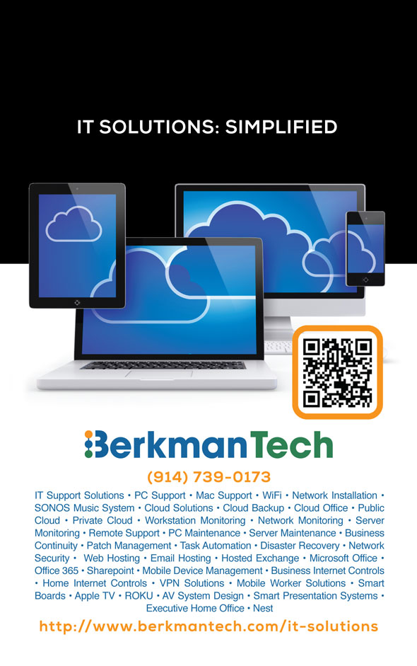 Print Ad Design for BermanTech IT Solutions