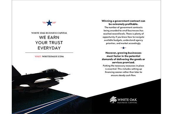 Direct Mail Design for White Oak Business Capital