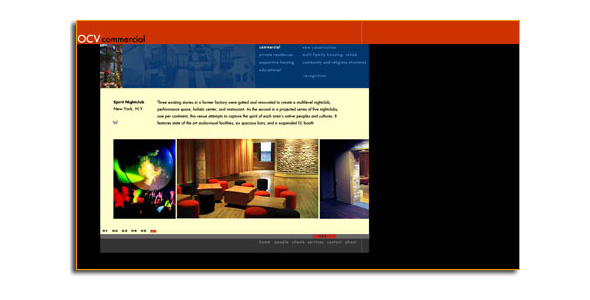 Website Design for OCV Architects