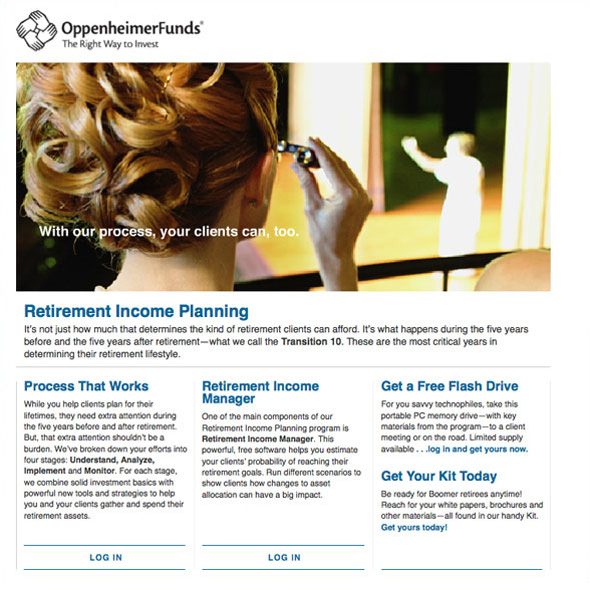 Website Design for Oppenheimer